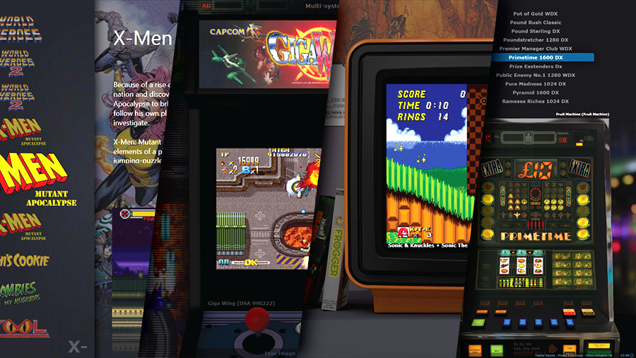 mGalaxy | Arcade and gaming console emulator frontend | News
